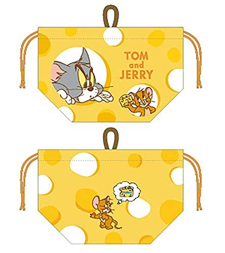 丸眞 お弁当袋 マチ付き巾着 トムとジェリー インチーズ トムとジェリー 4105014100