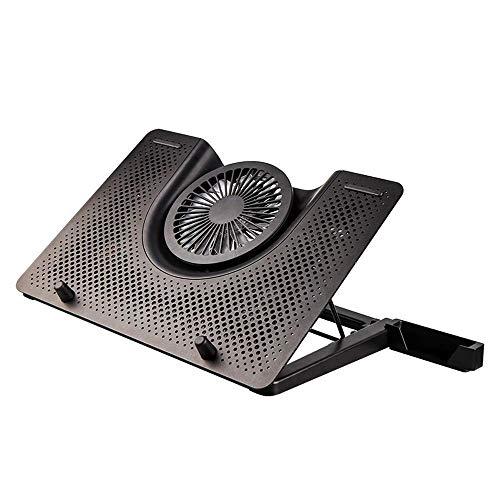 SHYPT Laptop Cooling Pad, refrigerador portátil con Ventilador silencioso, Puerto USB, Pantalla Pad, Enfriador portátil Gaming