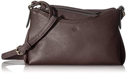 TOM TAILOR Umhängetasche Damen Avea, Braun (Brown), 22x14x3 cm, TOM TAILOR Handtaschen, Taschen für Damen, klein