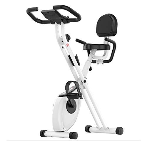 QINYUP - Bicicleta de spinning plegable para el hogar, equip