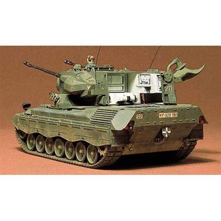 Tamiya 35099 1:35 BW Flak-Panzer Gepard (1), Modellbausatz,Plastikbausatz, Bausatz zum Zusammenbauen, detaillierte Nachbildung