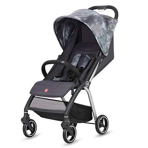 LIUX Baby kinderwagen, Travel kinderwagen lichtgewicht opvouwbare kinderwagen kan zitten ligstoel lichtgewicht en handig opvouwbaar voor u om te reizen maakt het gemakkelijk