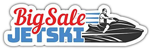 Jet Ski Big Sale Bumper Sticker Vinyl Art Decal voor Auto Truck Van Window Bike Laptop