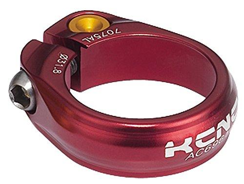 Abrazadera Tija Sillín KCNC SC-9 Rojo - Medidas: 34.9mm