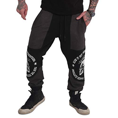 Yakuza Men Sweat Pants Punx Two Face Antifit