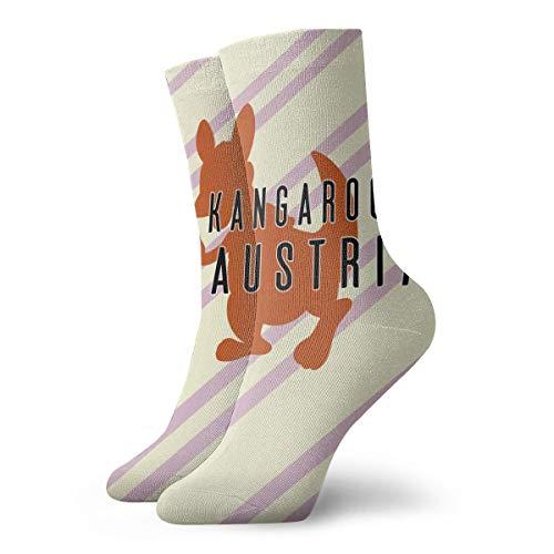 Ruin No Kangaroos In Austria Socken Kurze Socke bequem, verschleißfest, rutschfest, für Männer & Frauen, Polyester, weiß, Einheitsgröße
