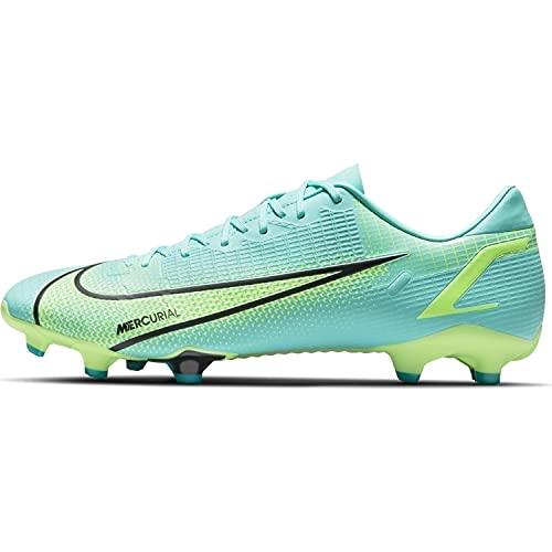 Nike Vapor 14 Academy FG/MG, Scarpe da Calcio Unisex-Adulto, Dynamic Turquoise/Lime Glow, 45 EU