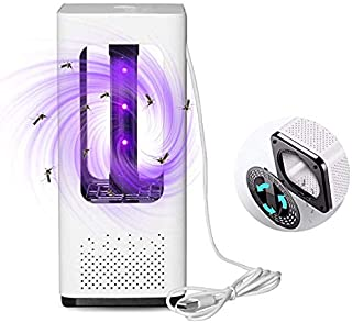 Tukear Indoor Bug Zapper, Electric Photocatalytic Suction Mosquito Killer with UV LED Light, USB Mosquito Killer Lamp