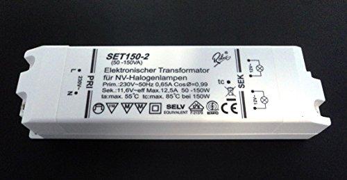 Self SET150-2 Halogen Trafo Transformator 12V 50-150 Watt dimmbar
