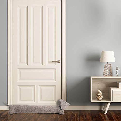 Tapa de la puerta del perro salchicha rollo XXL - tapa de la puerta de la puerta de la puerta 91cm