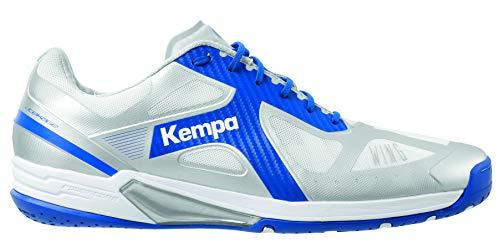 FanSport24 Kempa Fly High Wing Lite Handballschuhe Erwachsene Schuhe blau grau