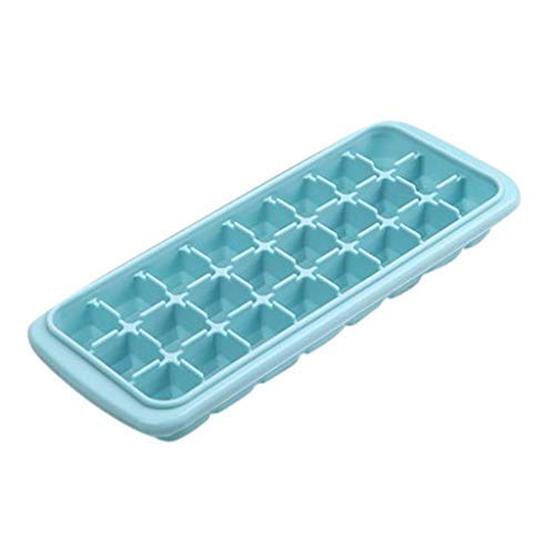 MULIN 2 Set Ice Tray Mold, Suitable for Spring and Summer, Quick Freezing, Easy to Clean, Non-Toxic, Odorless, Durable, Easily to Pull Out Freezer Molds Blue