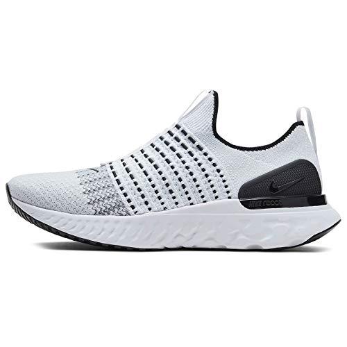Nike React Phantom Run Fk 2 Running Shoe Mens Cj0277-100 Size 10.5