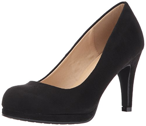 CL by Chinese Laundry womens Nilah Platform Pump, Black Suede, 8.5 US