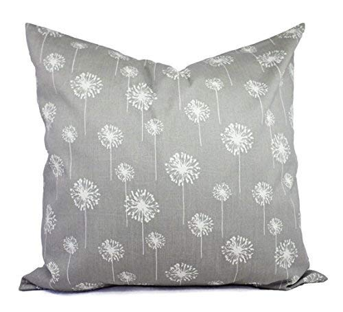 Charcoal Decorative Pillow Sham Covers