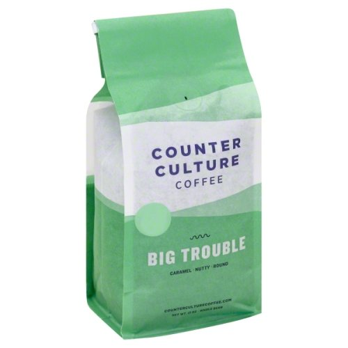 Counter Culture Whole Bean Coffee Big Trouble 12 oz (Pack of 2)