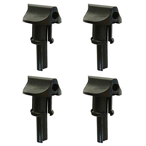 Homyl 4Unidades Dial Control Palanca Choke Knob Repuesto Recortadora para Stihl FS350Esferas # 41281829500