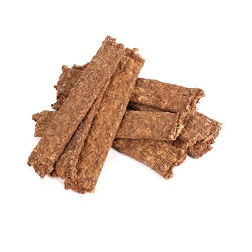 Grobys Futterkiste Fleischstreifen Rind, getreidefleisch Kausticks (Soft) zur Belohnung für Hunde, Verpackungseinheit:5 Kilogramm