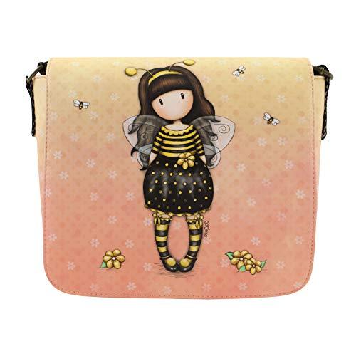 Santoro Gorjuss Cross Body Bag - Bee Loved Just Bee-Cause