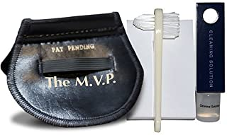 The M.V.P. vinyl record and disc cleaning kit. It cleans, handles vinyl records, disc, movies, music, video games, and PC software.