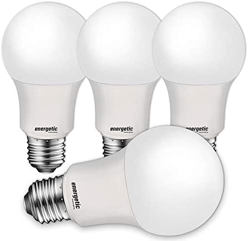40W Equivalent A19 LED Light Bulb Soft White 2700K UL Listed E26 Standard Base Non Dimmable product image