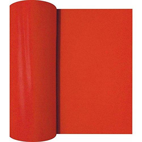 La Pajarita Rollo Mantel Camino de Mesa Newtex (Rojo)
