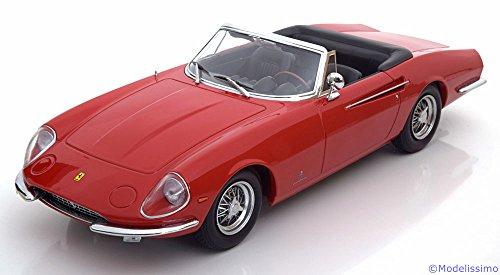 KK SCALE KKDC180051 FERRARI 365 CALIFORNIA SPYDER 1966 RED 1:18 DIE CAST MODEL