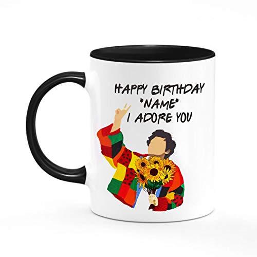 Harry Trending Styles Birthday Mug, Funny Mug, Custom Name Mug, Birthday Gift For Friends, Harry Fan Lover, Coffee Mug 11Oz 15Oz
