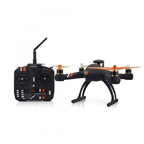 zoopa Acme Q evo Quadrokopter | RTF | GPS | Virtuelles Sicherheitsnetz | inkl. 2,4 Ghz Fernsteuerung(ZQE550)