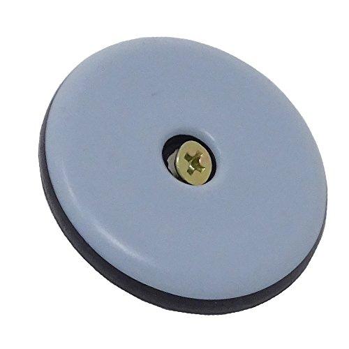 SBS® Teflongleiter Möbelgleiter mit Schraube ø 50mm - 16 Stück