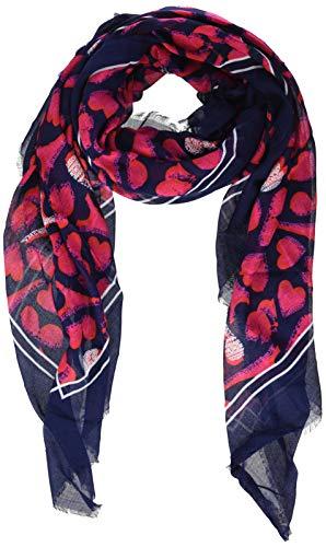 Karl Lagerfeld Paris Damen L0WS6130 Modischer Schal, Dunkles Marineblau, Einheitsgröße