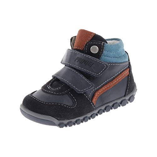 Primigi. Babyschoenen voor jongens, laarzen met klittenbandsluiting, wil, blauw 6029000