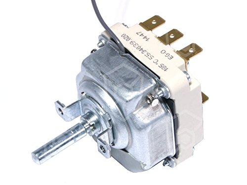 EGO 55.34039.020 Thermostat für Fritteuse MKN 2020302C00, 2020302A00, 2020302-01, FriFri D8, D6, Roka FR1004, FR1005, FR1006 3NO