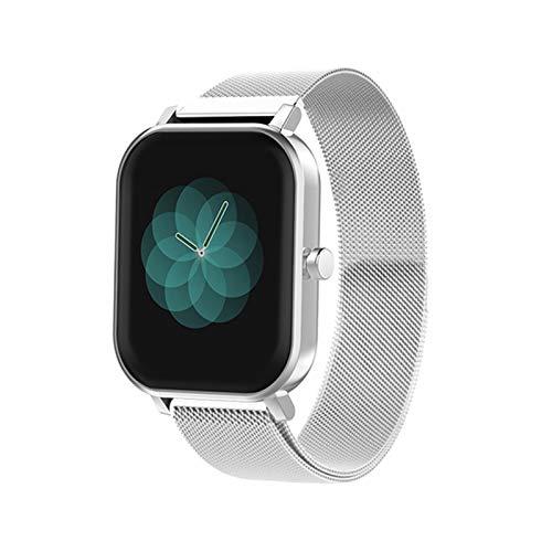ZYY S10 1.69 Pulgadas Smart Watch para Damas y Hombres, toach toach Completo Monitoreo del sueño Trucidador de Fitness IP68 Smartwatch para Android iOS,F