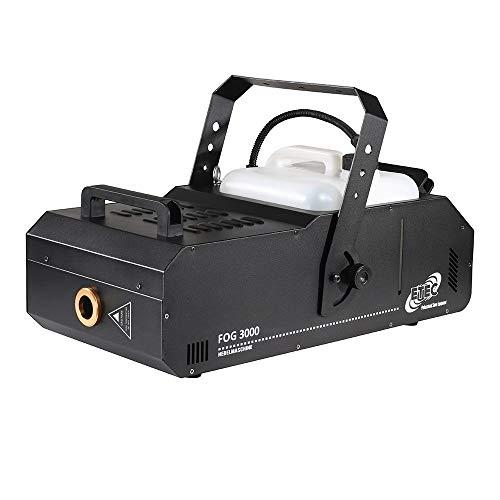 ETEC Nebelmaschine FOG 3000 Watt DMX Funkfernbedienung - PROFI NEBLER FOGGER Club DJ Dauernebel Feuerwehr