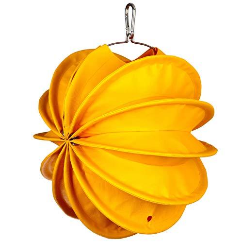 Barlooon wetterfester Garten Lampion Größe s gelb