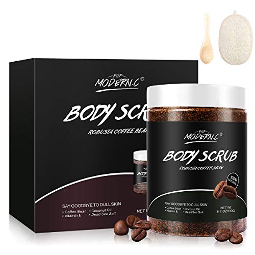 Pop Modern. C Coffee Exfoliating Booty Body Scrub