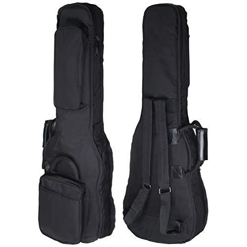 クッション付き エレキ ギター 用 ギグバッグ クッション 20mm厚 ギグ ケース MUSENT MSGBSEG1200 国内メーカー品質監修品