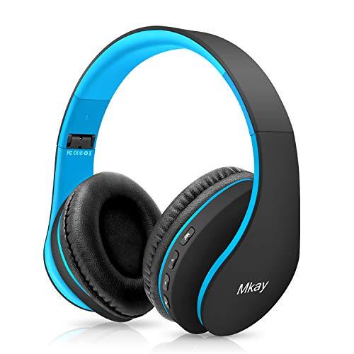 Bluetooth Headphones Wireless,MKay Boys Over Ear Headset V5.0 with...