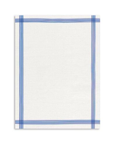 KRACHT, Leinen Geschirrtuch, Gläsertuch, 60x80cm (blau)