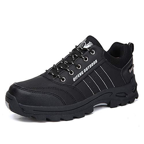 Holeider Schuhe Wanderschuhe Herren Sneaker Outdoor Wasserdicht rutschfest Trekkingschuhe Bergschuhe Hikingschuhe Sicherheitsschuhe Arbeitsschuhe Atmungsaktiv Freizeitschuhe für Männer