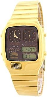سيتيزن ساعة بمينا انالوج و رقمية - Vintage-JG2012-50W