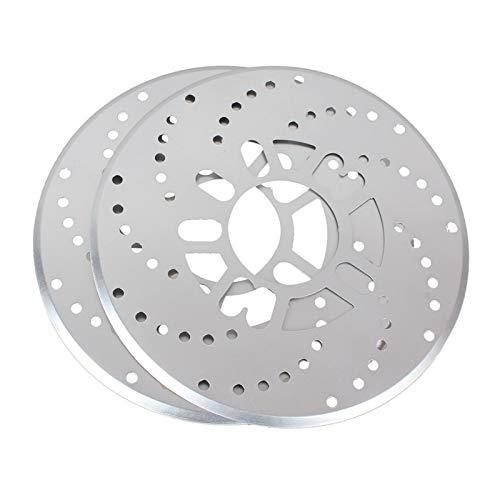 WHWEI 2 Stück Aluminium-Legierung Auto-Rad-Scheibenbremse Abdeckung for Auto-Änderung Bremsen Blatt Auto Räder...