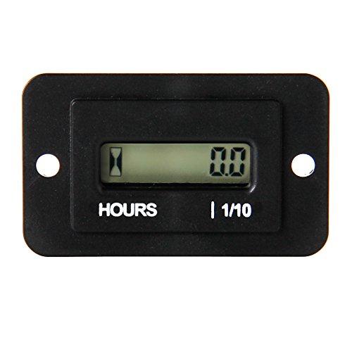 Runleader RL-HM010(AC86-230V) Digitaler Wartungsmesser für Motor, mit Stundenanzeiger/ Timer, für Truck, Wohnwagen, Boot, Schneemobil