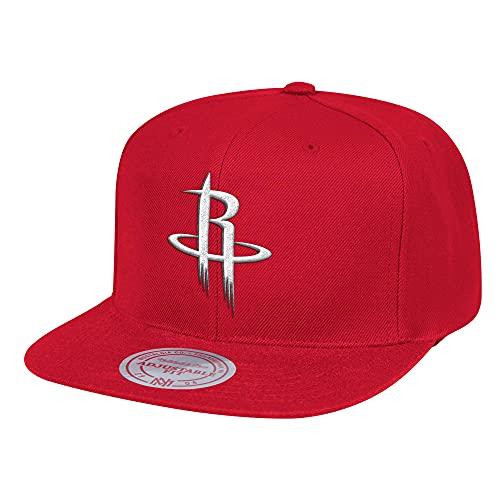 Mitchell & Ness Team Ground Houston Rockets - Gorra, color rojo