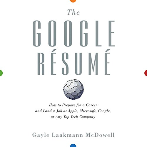 The Google Resume cover art