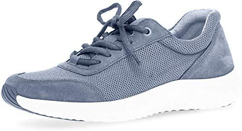 Gabor Comfort Damen Rollingsoft Sneaker Sneaker Größe 37 EU Blau (blau)