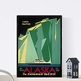 Nacnic Vintage Poster Vintage Poster. Iceberg in Alaska. A4