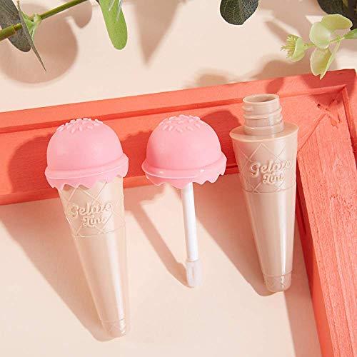 Leere Behälter für Eiscreme, Lipgloss, 8 ml, Dosen, Dosen, Make-up, Kosmetik, transparent, Lippenbalsam, nachfüllbare Flasche