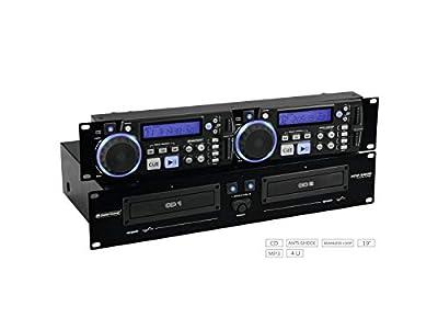 Omnitonic XCP-2800 Dual CD Player DJ Disco Sound System